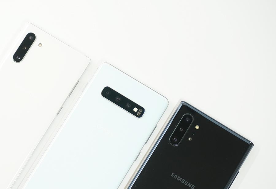 Galaxy Note10 / Note10+とGalaxy S10+