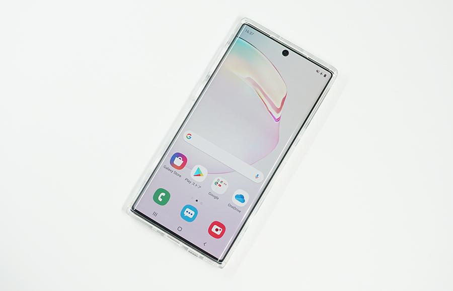Spigen Galaxy Note10用ウルトラ・ハイブリッドはデザインを活かせる