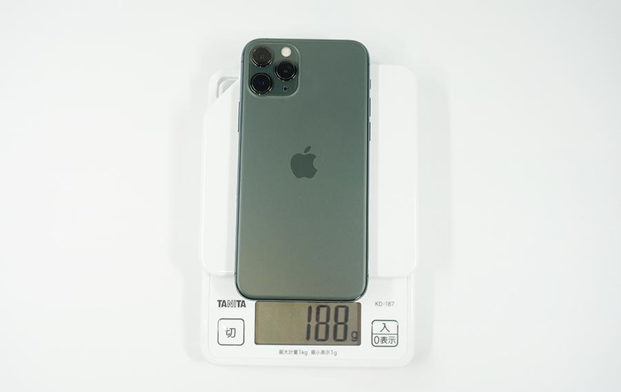 iPhone 11 Proの重さ