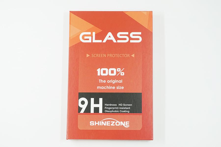 1,000円以下でガラス2枚+ケース付きのSHINEZONE ガラスフイルム