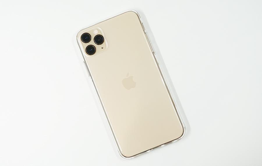 iPhone 11 Pro Maxにも付属のケースを付けてみた