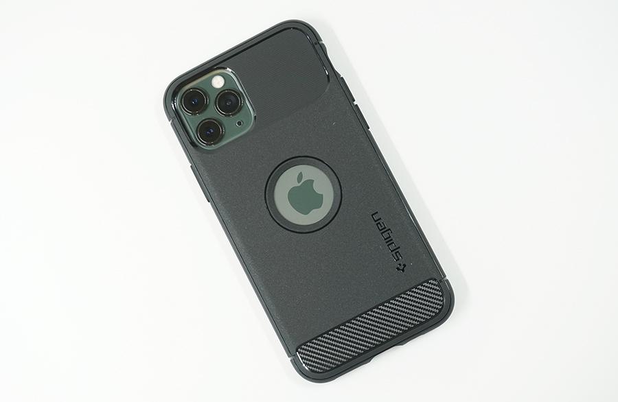 Spigen ラギッド・アーマーをiPhone 11 Proに装着してみた