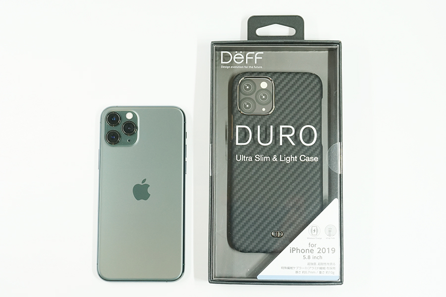 Ultra Slim & Light Case DUROとiPhone 11 Pro