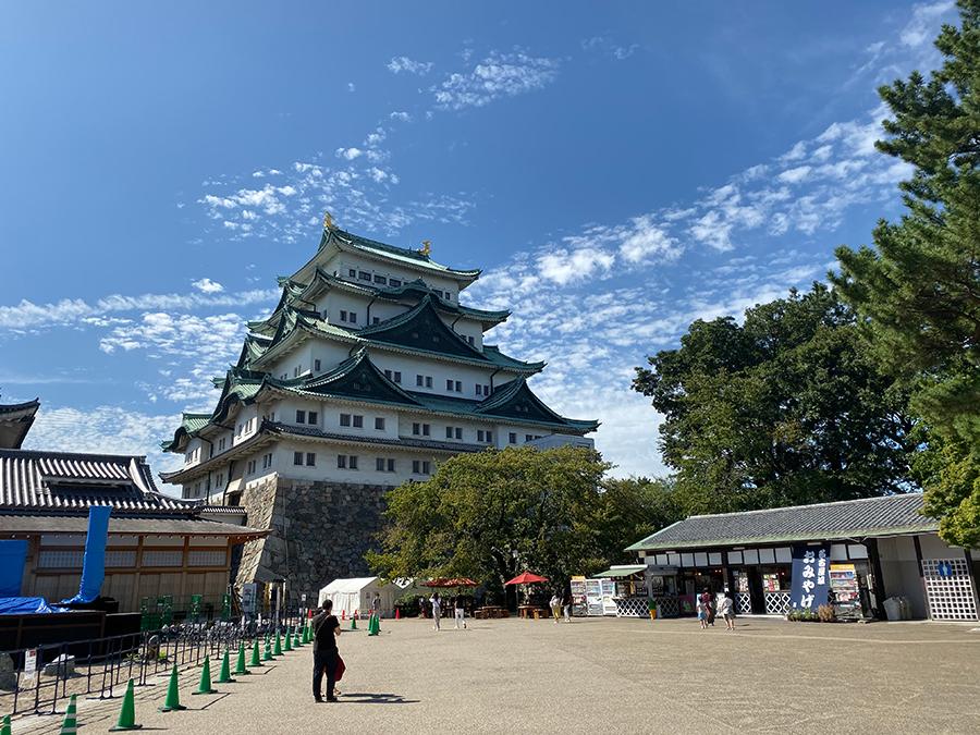 iPhone 11 Pro Maxの広角で撮影した名古屋城