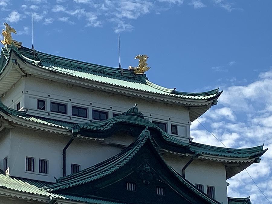 iPhone 11のデジタルズームで撮影した名古屋城