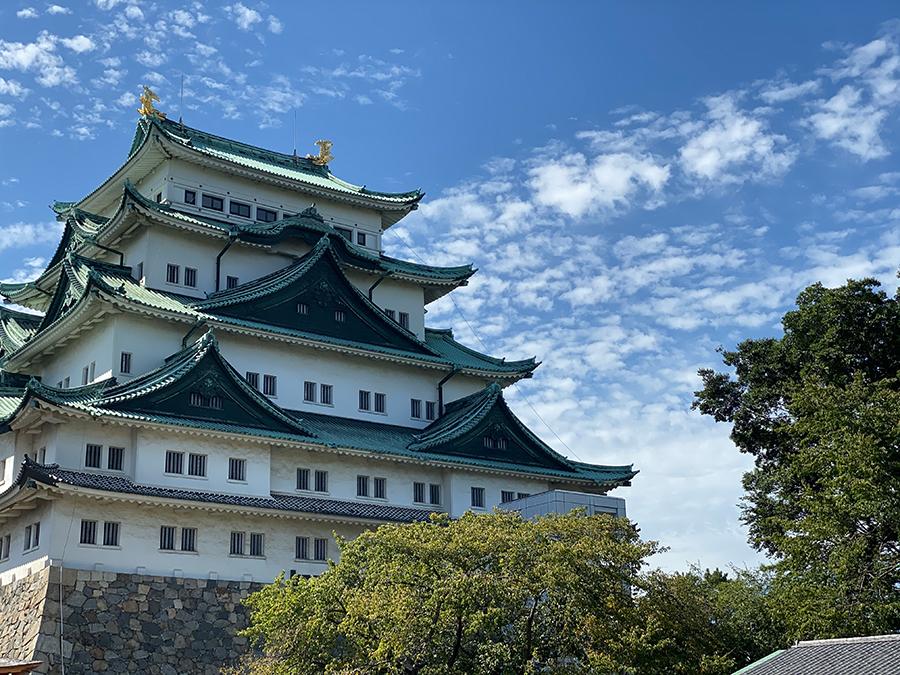iPhone 11 Pro Maxの望遠で撮影した名古屋城