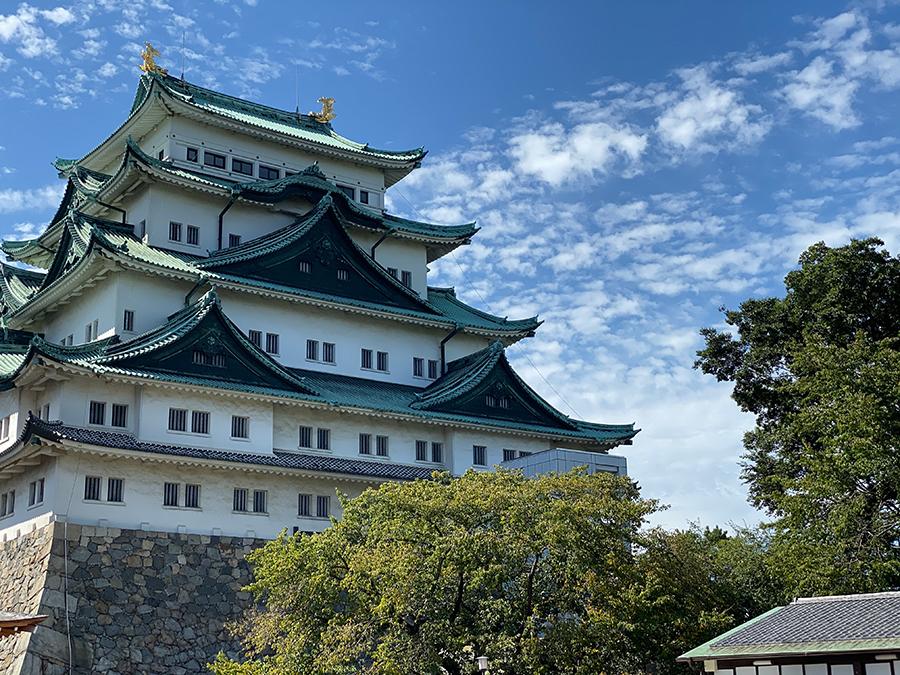 iPhone 11 Proの望遠で撮影した名古屋城