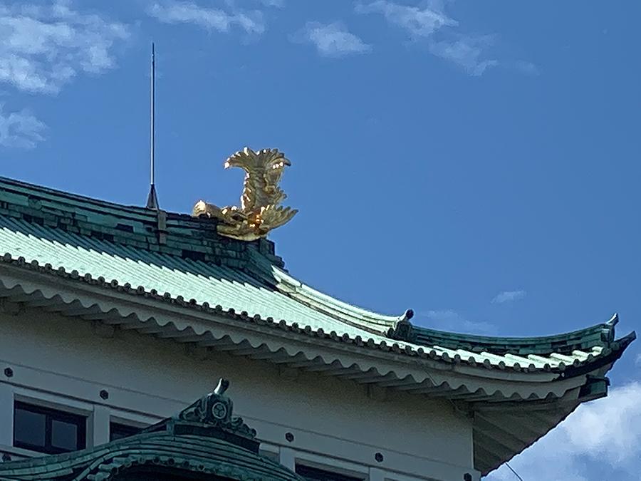 iPhone 11 Proのデジタルズームで撮影した名古屋城