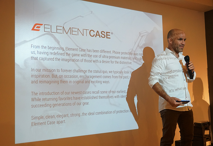 ELEMENTCASEを展開するSTM社