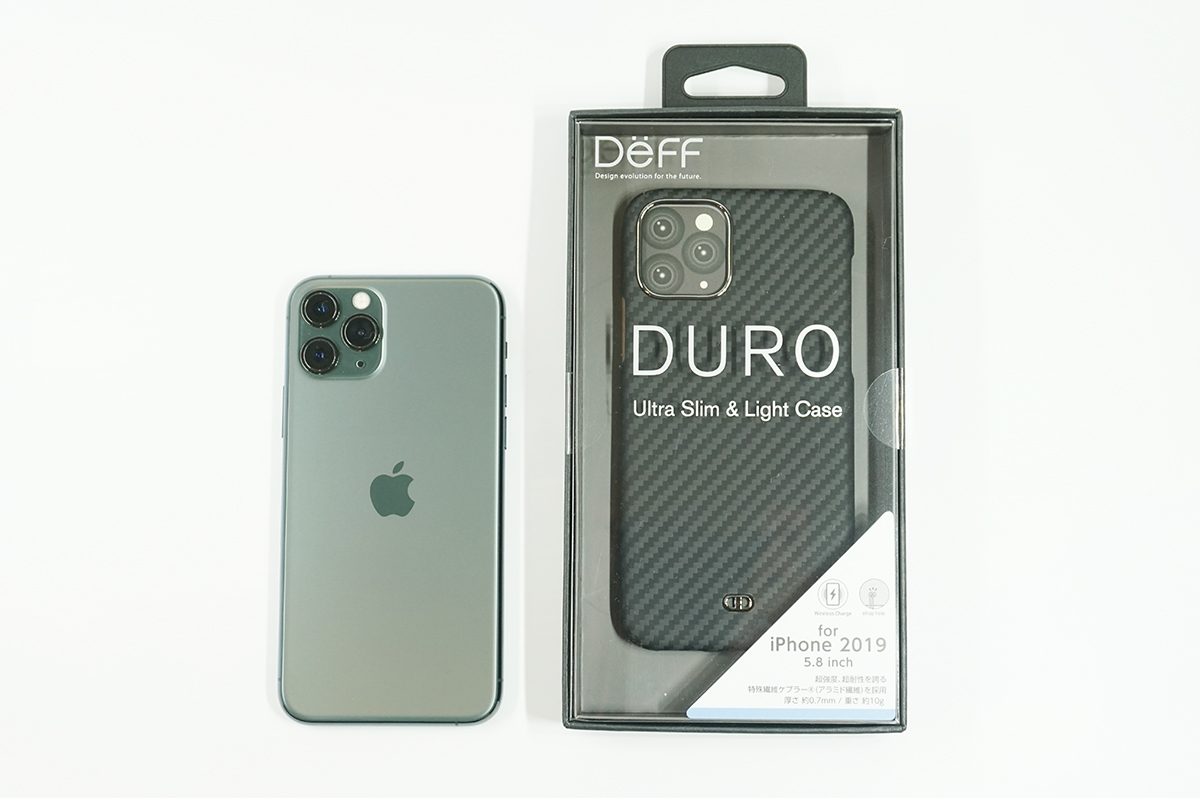iPhone 11 Pro用の大人気ケース「Ultra Slim & Light Case DURO」