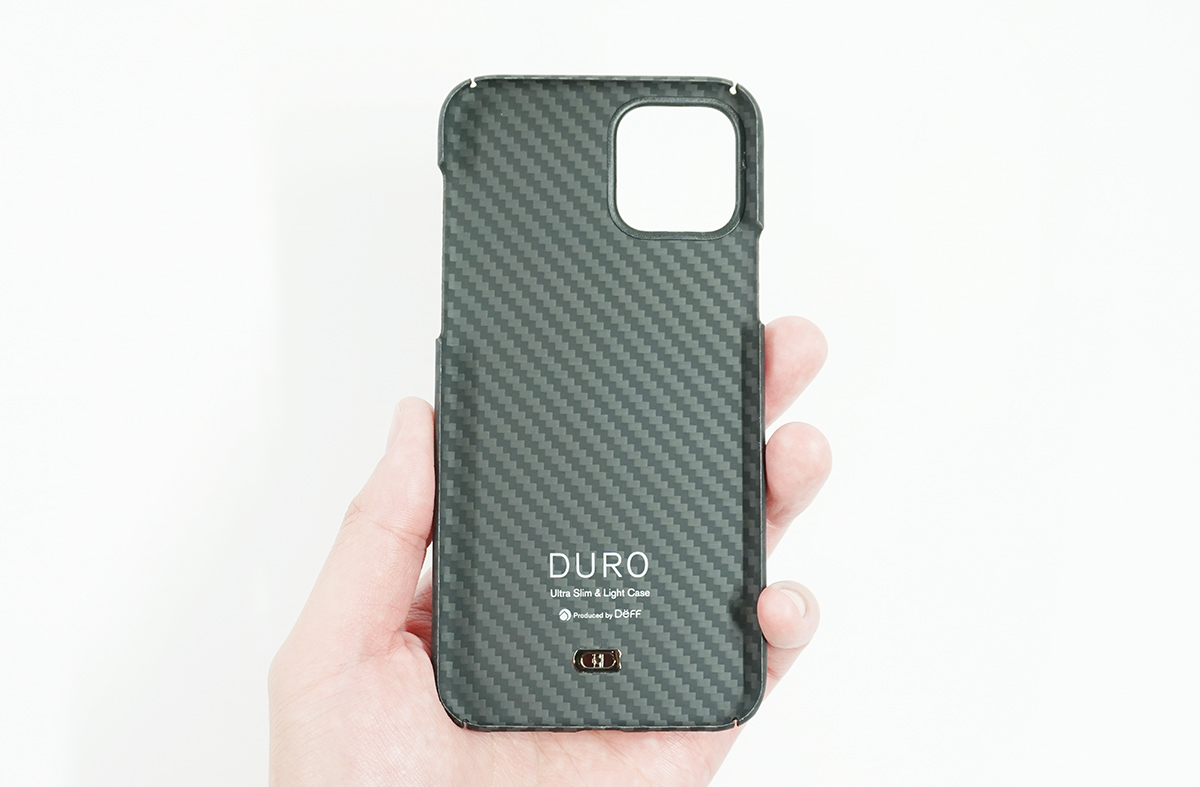 Ultra Slim & Light Case DUROの特徴