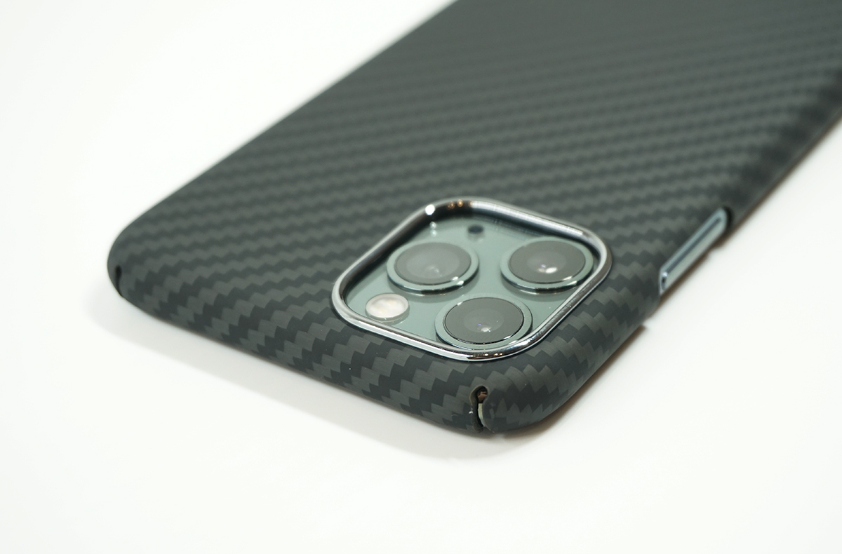 DURO for iPhone 11 Proはカメラ部分は保護されている