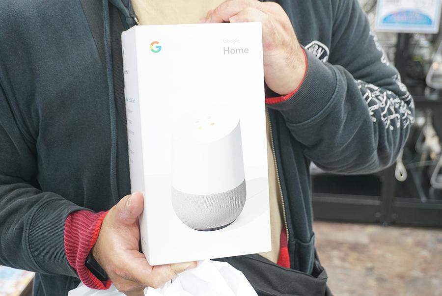 Google Homeをイオシスで買った