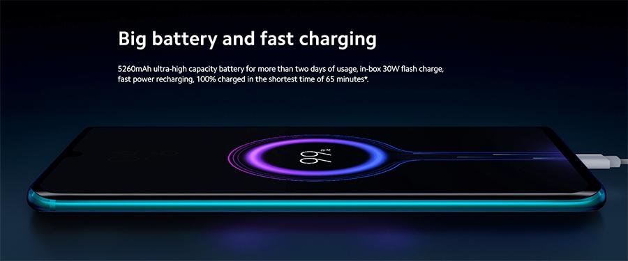 大容量バッテリーと高速充電の組み合わせが最高