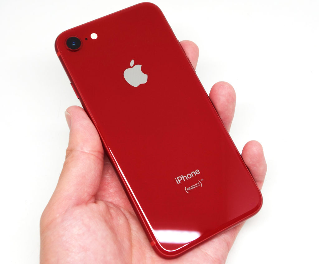 iPhone 8 PRODUCT RED レビュー