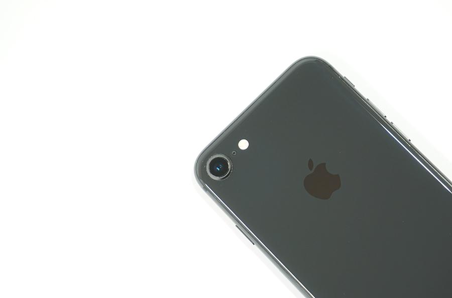 iPhone 8のカメラをチェック