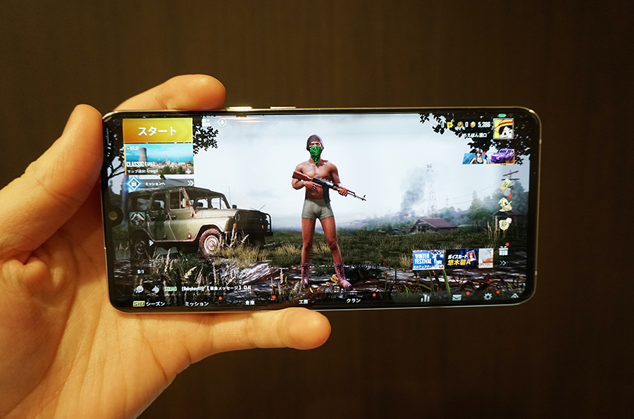 Mi Note 10のゲーム・アプリ動作をチェック
