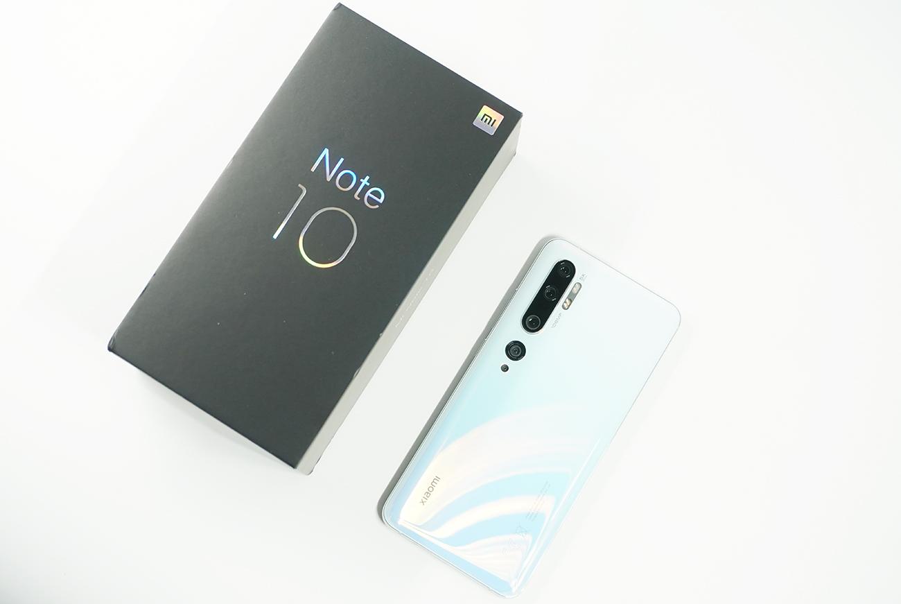 徹底レビューXiaomi Mi Note 10を使って感じたメリット・デメリット