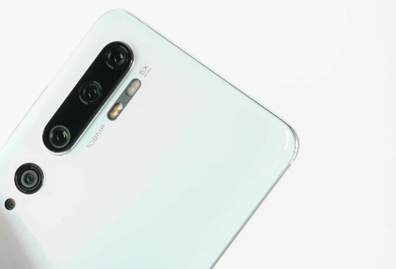 Mi Note 10のカメラをレビュー