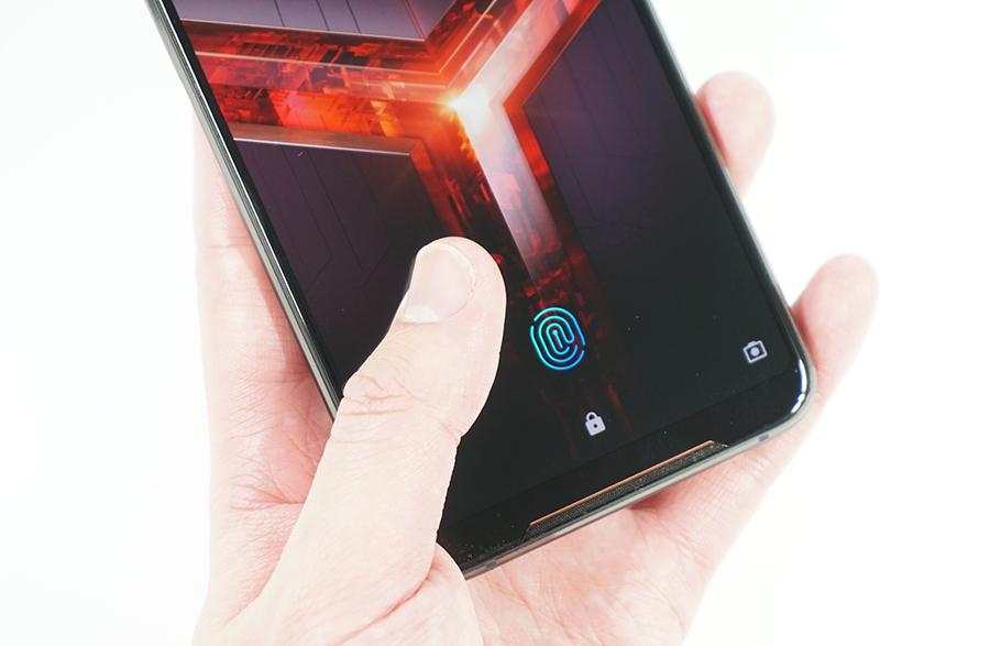 ROG Phone 2の指紋認証をチェック