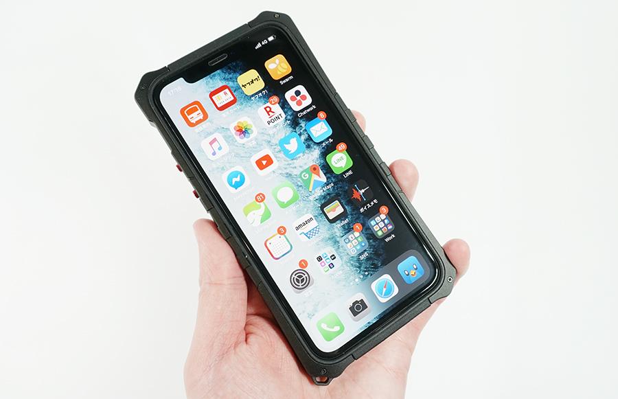 iPhoneの傷や破損への心配が大幅にいらなくなる