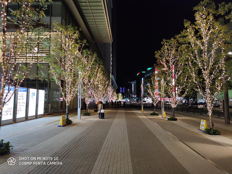 Mi Note10夜間撮影