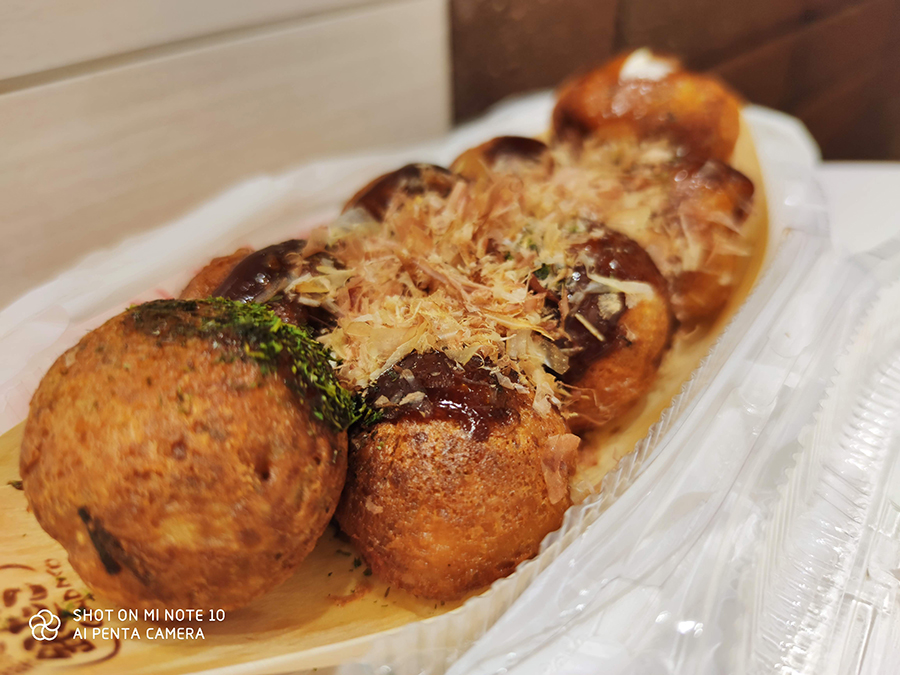 Mi Note10で撮影した料理