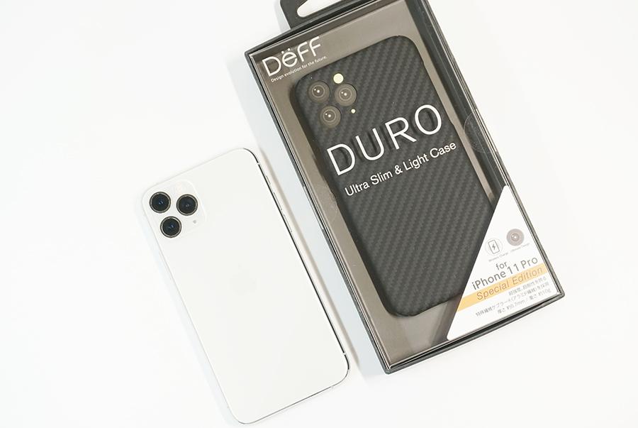 iPhone 11 Pro用アラミド繊維ケース「DURO」スペシャルエディション