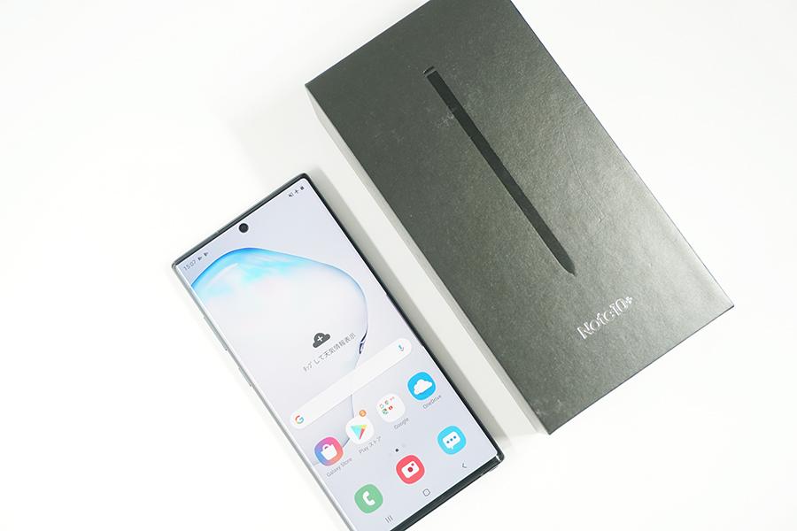 Galaxy Note10+のスペック・性能