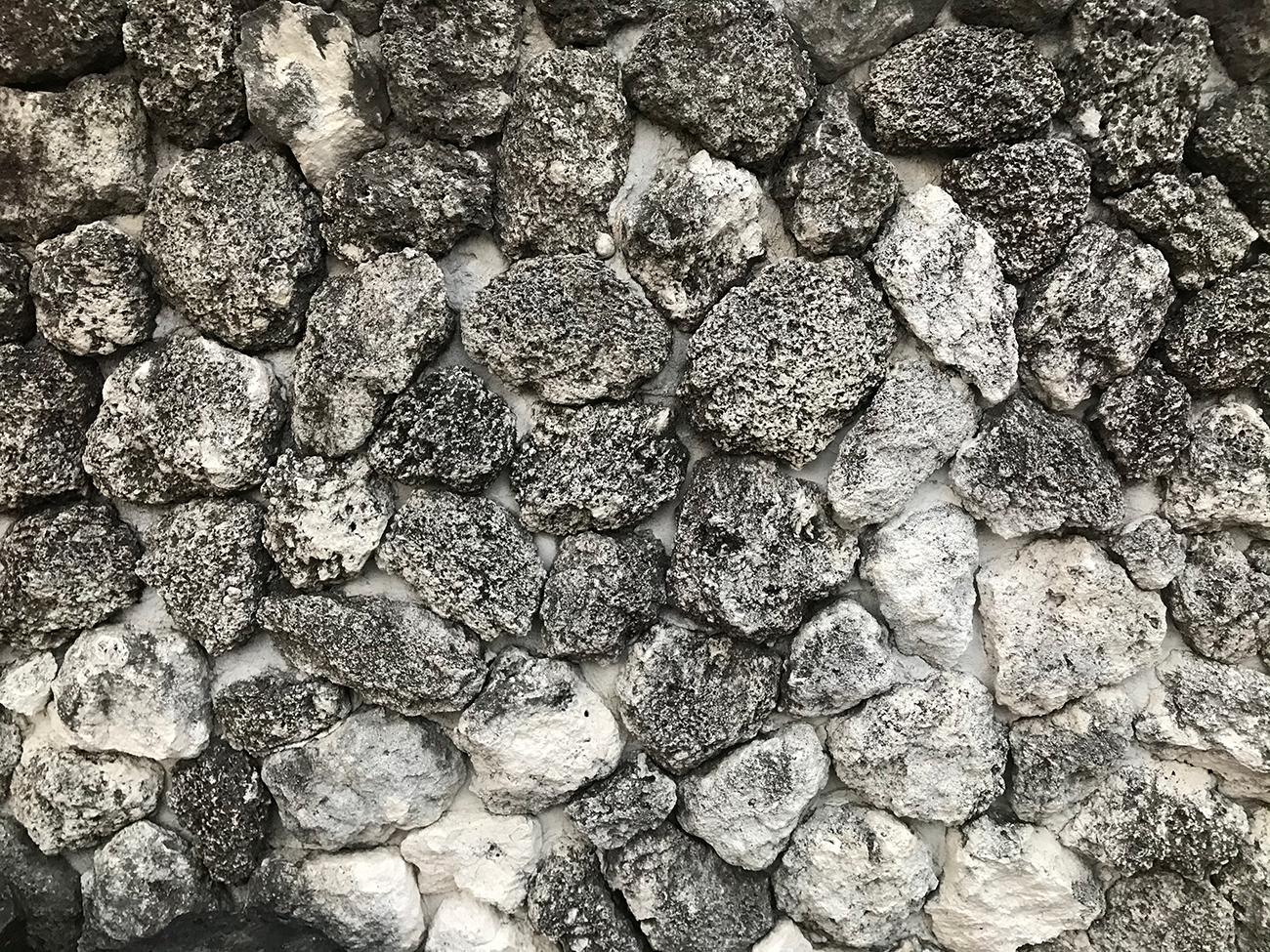 iPhone 7のカメラで撮影した岩