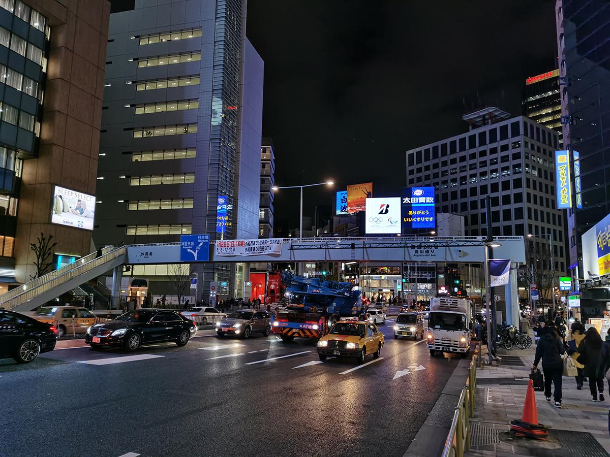 HUAWEI Mate 30 Proのカメラで撮影した夜景