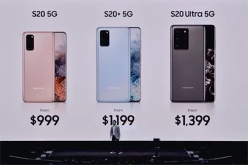 Galaxy S20/S20+/S20 Ultraの価格まとめ
