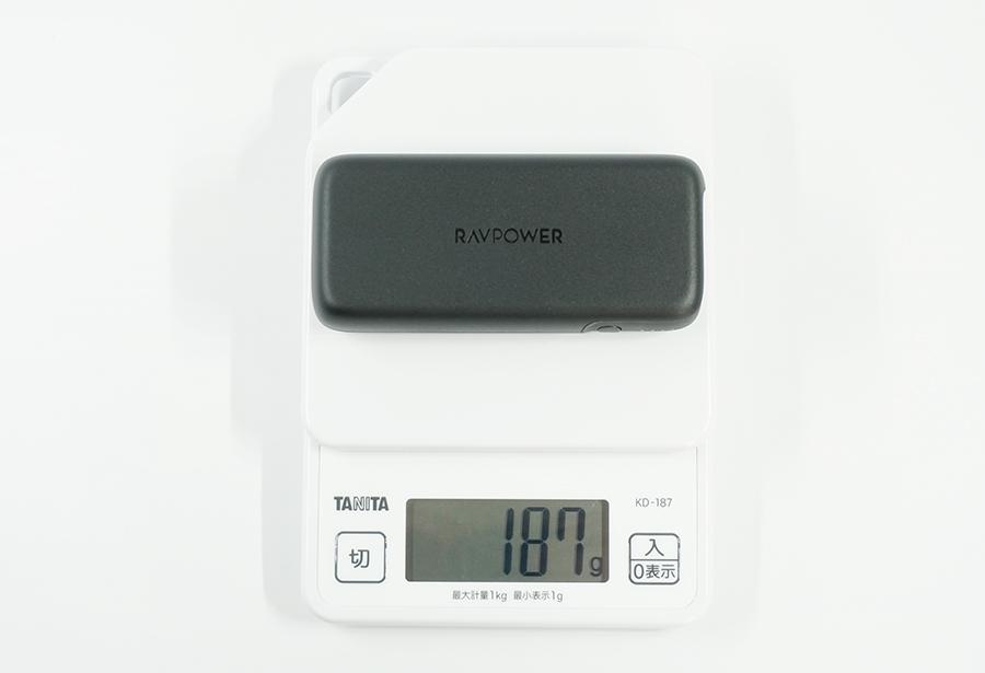 RP-PB186の重さ