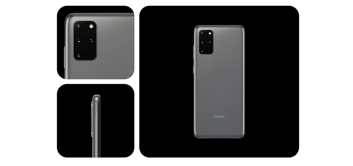 Galaxy S20+のデザイン