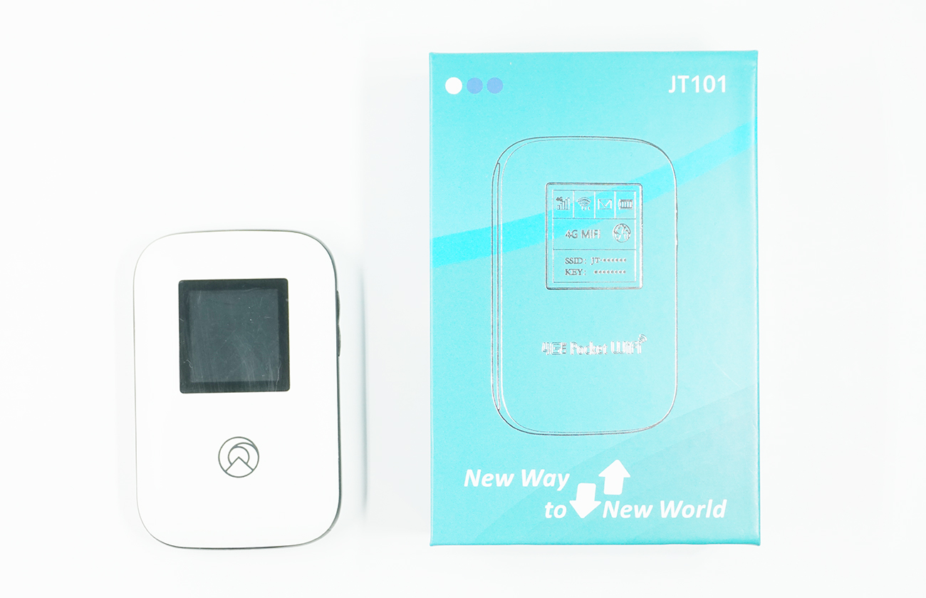 Nomad SIM(ノマドシム)のモバイルルーターJT101をレビュー