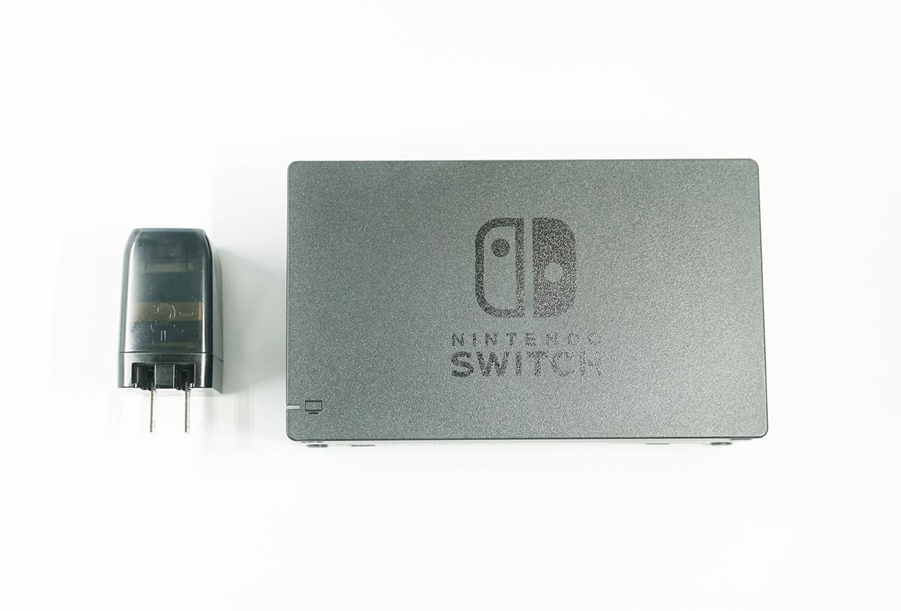 純正のNintendo Switchドックと大きさ比較