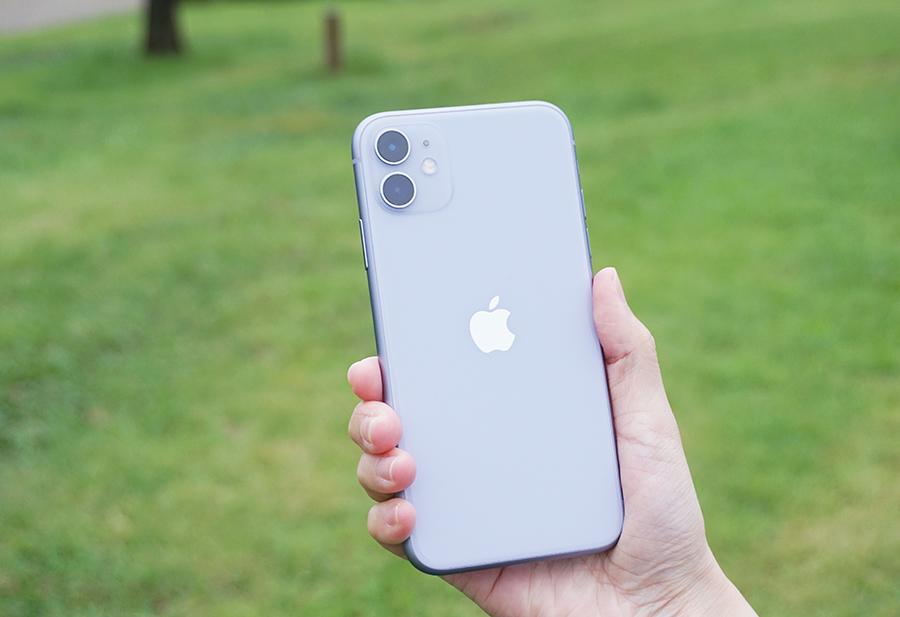 iPhone 11の背面