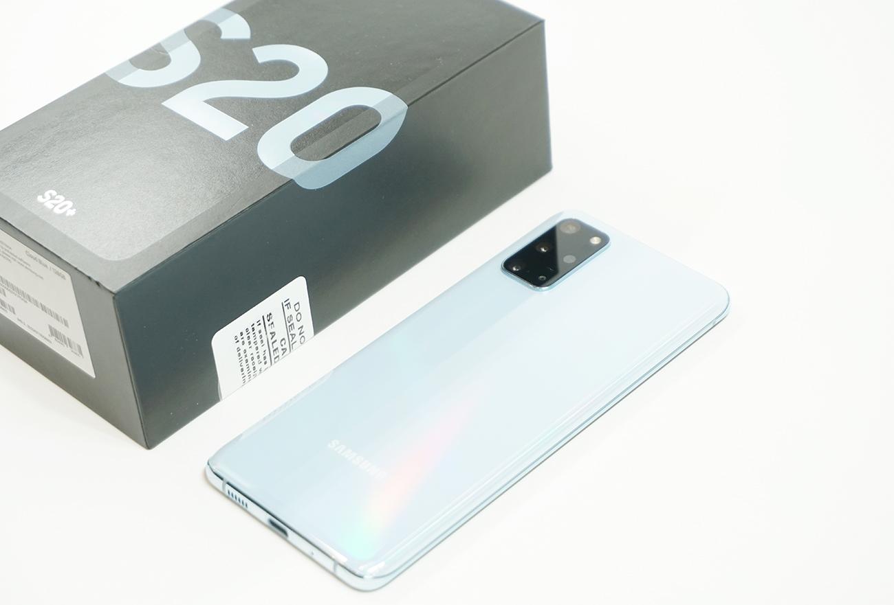 Galaxy S20Plusを買ってみた!使ってわかったココが凄い&気になる点!