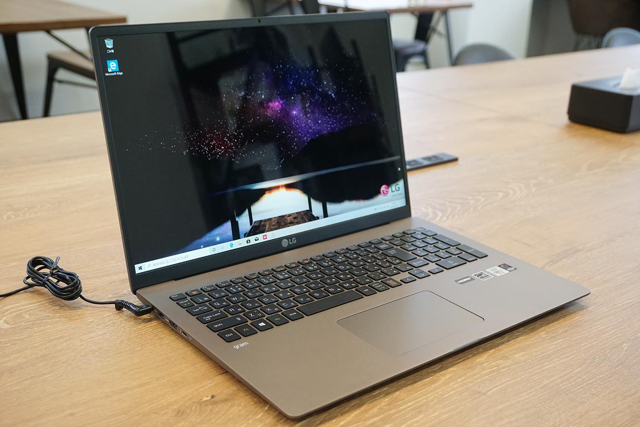 LG gram 17Z90Nのデザイン・外観をレビュー