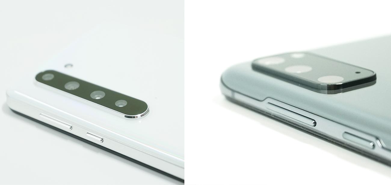 Galaxy S20とAQUOS R5Gの「カメラ」の違いに