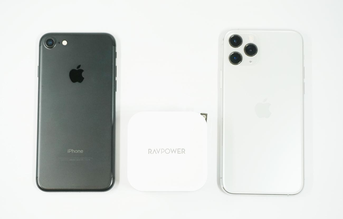 新素材GaN採用でApple純正の87Wアダプタの半分程度の大きさを実現