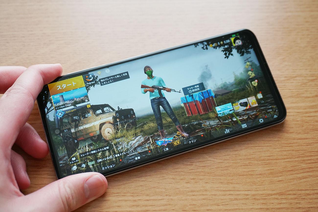 Redmi Note 9Sのゲーム・アプリ動作をチェック