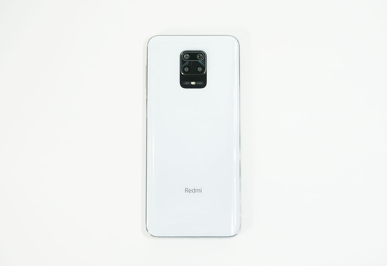 Redmi Note 9Sの背面