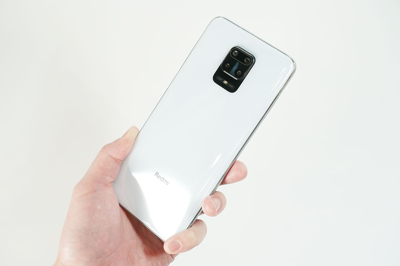 Redmi Note 9Sのスペック性能をレビュー