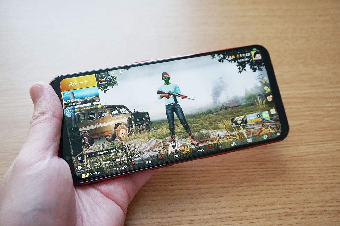 RedMagic 5Gのゲーム・アプリ動作をチェック