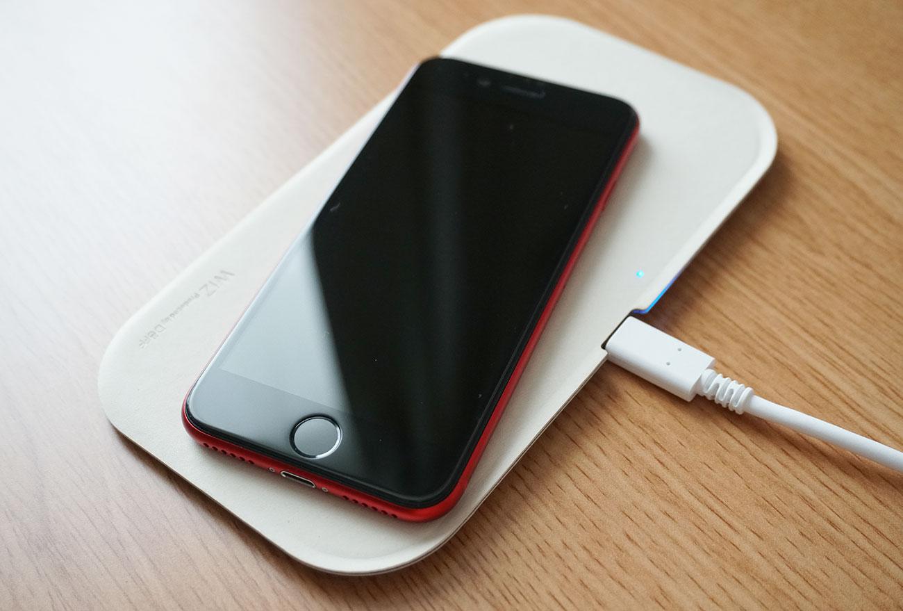 WIZ Wireless Charging Trayの魅力