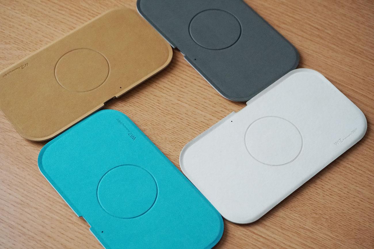 WIZ Wireless Charging Trayのデザイン外観をレビュー