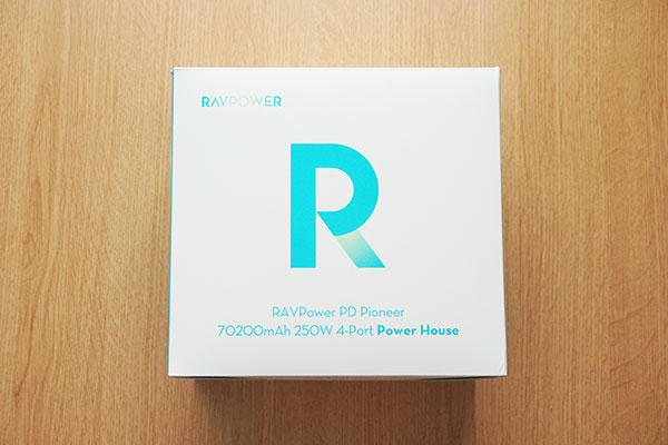 RAVPower RP-PB187のデザイン外観をレビュー
