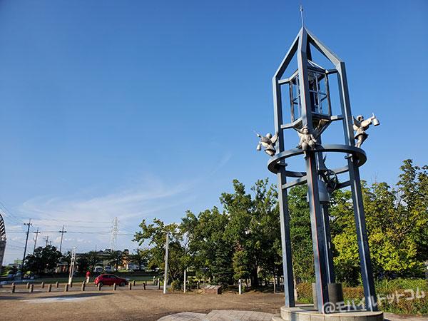 Galaxy Note10+の広角で撮影した公園