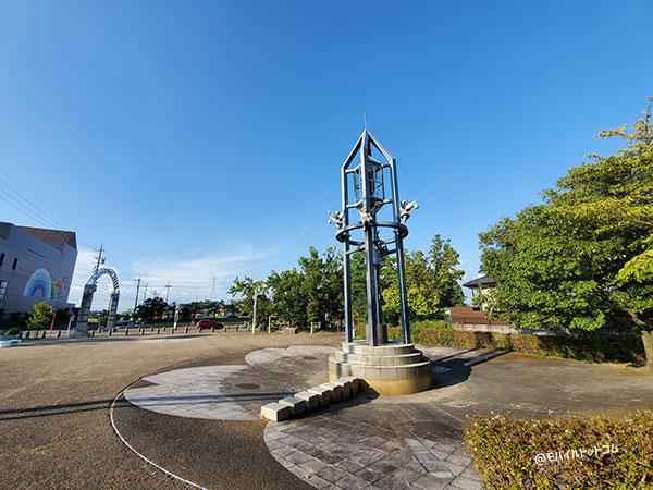 Galaxy Note10+の超広角で撮影した公園
